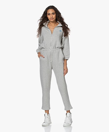 American Vintage Oming French Terry Tracksuit - Polar Melange