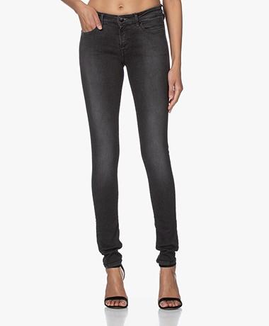 Denham Spray BCI Stretch Katoenen Jeans - Zwart