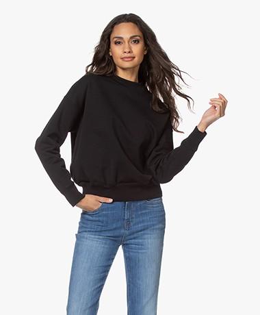 Drykorn Resali Organic Cotton Sweatshirt - Black