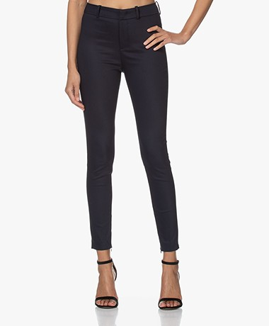 Drykorn Winch Stretchy Slim-Fit Pants - Navy