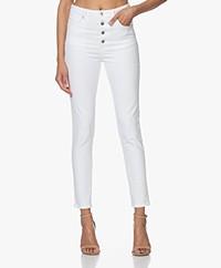 IRO Esme High-rise Skinny Jeans - White