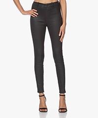Drykorn Winch Skinny Coated Pants - Black