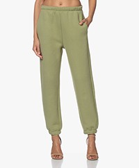 American Vintage Ikatown French Terry Sweatpants - Olive Grove