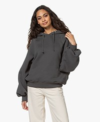 American Vintage Ikatown Hooded Sweater - Carbon