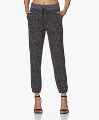 Rails Kingston Mini Cheetah Sweatpants - Charcoal