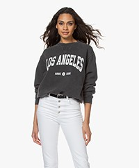 ANINE BING Ramona Los Angeles Sweatshirt - Washed Black