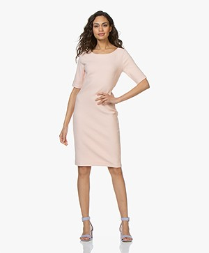Kyra & Ko Marieke Textured Dress - Peach