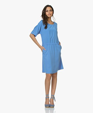 Josephine & Co Clara Tencel Dress - Blue