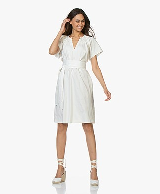 Vanessa Bruno Linsay Jersey Dress - Ecru