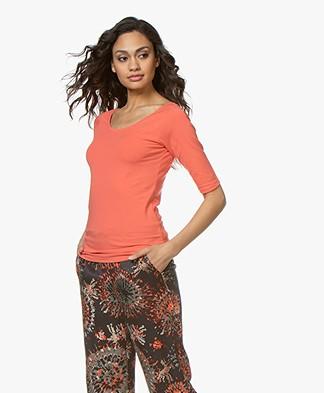 Kyra & Ko Annie Basis T-shirt - Coral