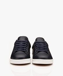 Filippa K Alice Leren Sneakers - Donkerblauw