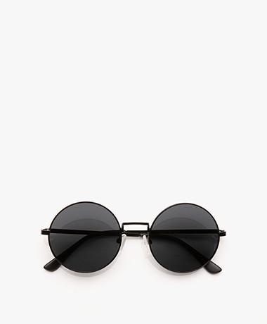 Matt & Nat Cole Retro Sunglasses - Black