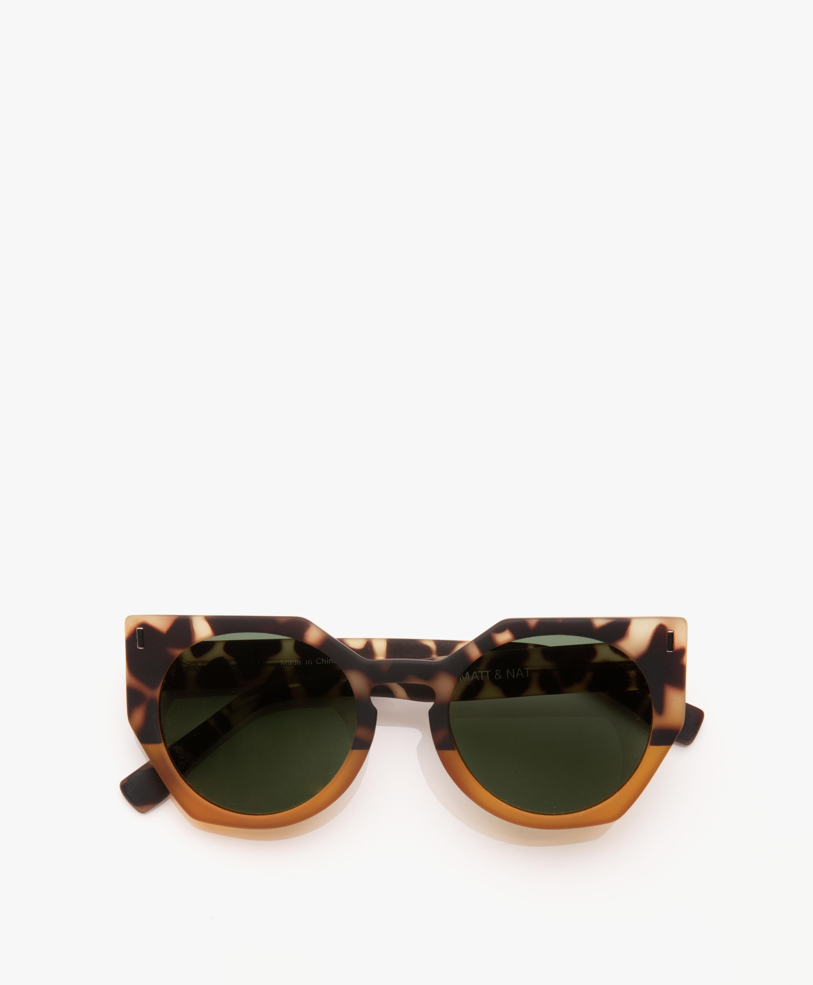9e859cfae084 Matt   Nat Mule Geometric Sunglasses - Leopard Mix - mule leomix