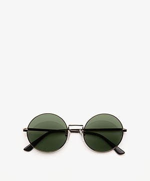 Matt & Nat Cole Retro Sunglasses - Silver