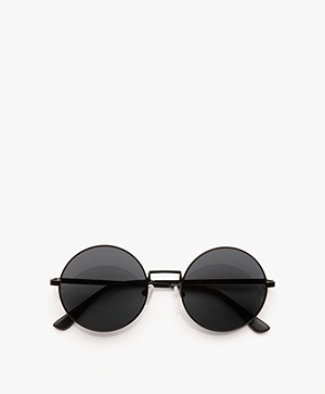 Matt & Nat Cole Retro Sunglasses - Black