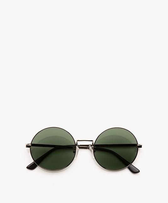 6d37c5918a9081 Matt   Nat Cole Retro Sunglasses - Silver - cole