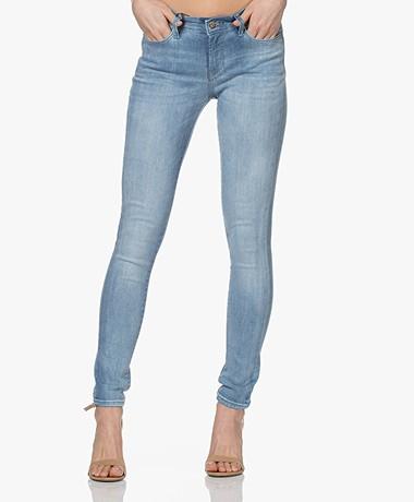 Denham Spray Super Tight Fit Jeans - Lichtblauw