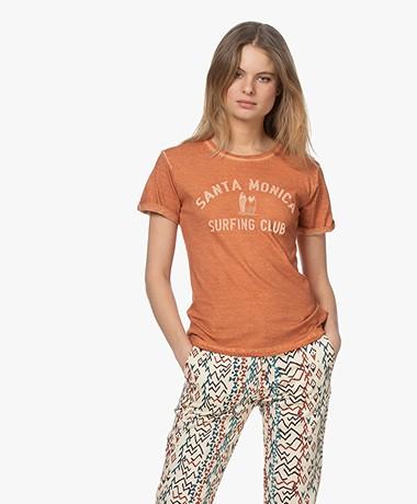 MKT Studio Tomica Organic Cotton Print T-shirt - Noisett