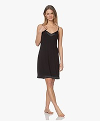 Calvin Klein Modal Jersey Nachthemd - Zwart