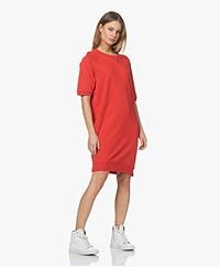 by-bar Neva Organic Cotton Sweater Dress - Pepper