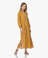 by-bar Loulou Smocked Maxi Dress - Harvest