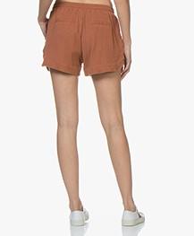 BY-BAR Britt Mousseline Shorts - Copper