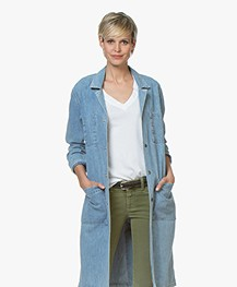 Rag & Bone Flasher Japanse Denim Jas - Crystal Wash