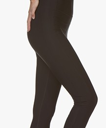 Filippa K Soft Sport Compression Zip Legging - Zwart