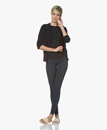 Filippa K Soft Sport High Seamless Legging - Dark Ocean