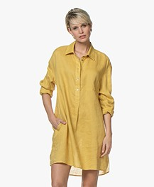 Repeat Pure Linen Tunic Dress - Mais