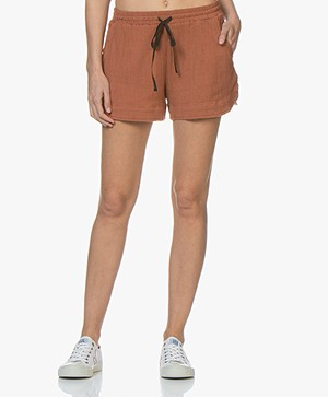 BY-BAR Britt Mousseline Shorts - Copper