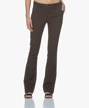 BY-BAR Leila Flared Jeans - Phantom Black