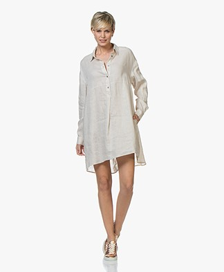 Repeat Pure Linen Tunic Dress - Linen