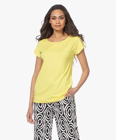 Kyra & Ko Dedina Viscose T-shirt - Mimosa