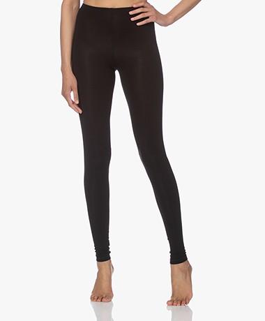 Kyra & Ko Mies Viscose Jersey Leggings - Black