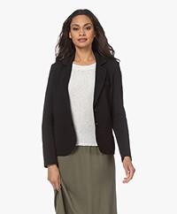 Repeat Tailored Jersey Blazer - Black