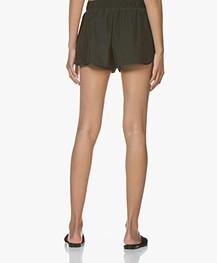 James Perse Silk Charmeuse Shorts - Gars