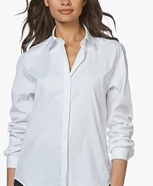 Joseph Edith Poplin Shirt - White