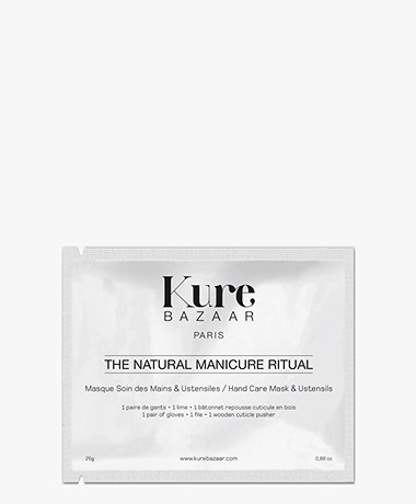 Kure Bazaar Natural Manicure Kit - Hand Mask & Tools