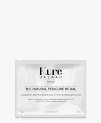 Kure Bazaar Natural Pedicure Kit - Foot Mask & Tools