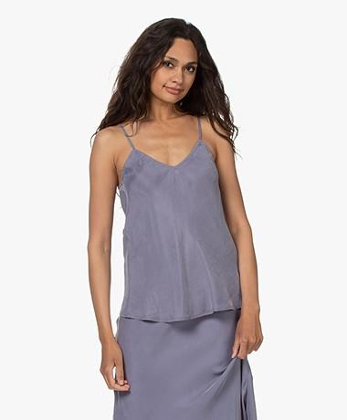 Denham Meryl Cupromix Bias-cut Camisole - Stonewash Blue