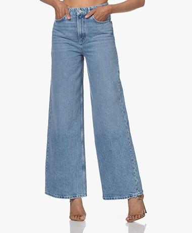 ba&sh Soul Wide Fit Jeans - Light Blue