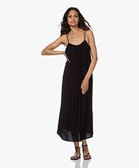 ba&sh Fenelope Crepe Viscose Dress - Black