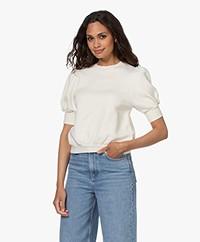 ba&sh Tael Cotton Sweatshirt - Ecru