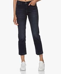 Drykorn Speak Straight Cropped Jeans - Dark Blue