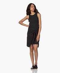 Rails Brie Cotton Jersey Dress - Black