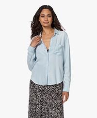 Rails Ingrid Raw Lyocell Overhemd - Light Vintage