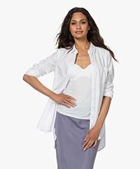 indi & cold Katoenen Poplin Overhemd - Wit