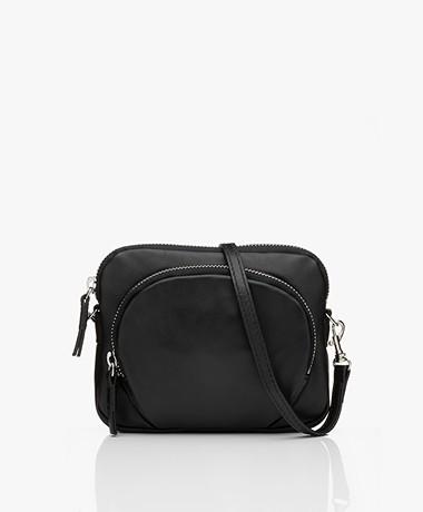 Filippa K Mini Leather Bag - Black