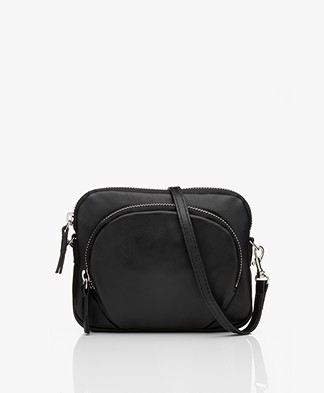 Filippa K Mini Leather Bag - Black